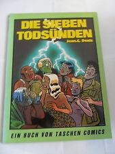 1x Comic - Taschen Comics 13 - Die Sieben Todsünden