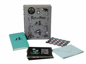 RICK & MORTY DELUXE NOTE CARD SET WITH K