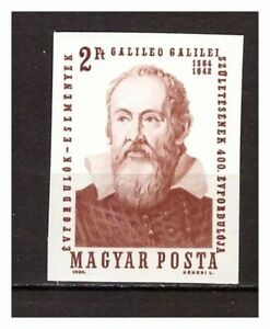 s22639) HUNGARY 1964 MNH** G. Galilei 1v IMPERFORATED