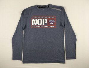 New Orleans Pelicans Fanatics Long Sleeve Shirt Men's Used Multiple Sizes