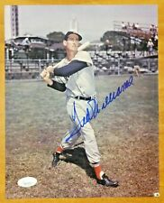 Ted Williams HOF Boston Red Sox Signed 8x10 Photo with Full JSA Letter