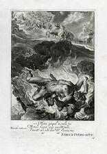Antique Print-DEATH-HERCULES-OLYMPUS-Diepenbeek-bloemaert-mariette-1655