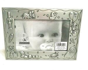 NEW-Children's Design Pewter Photo Frame(4x6)