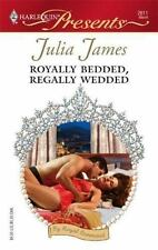 Royally Bedded, Regally Wedded, James, Julia, 0373126115, Book, Acceptable