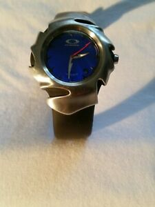 OAKLEY BLADE WATCH WITH BLUE DIAL