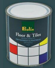 Smalto resina per pavimento piastrelle calcestruzzo alta resistenza 35 mq 2,5 L