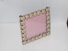 Small Flowers Photo Frame Enamel Swarovski Crystal