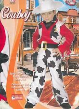 ABITO, COSTUME CARNEVALE, COWBOY, FAR WEST, BILLY THE KID ( 4-5 ANNI )