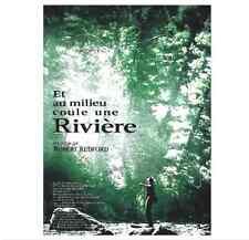 Bande annonce cinéma 35mm 1992 AU MILIEU COULE UNE RIVIERE Robert Redford B Pitt