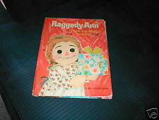 VINTAGE RAGGEDY ANN BIG GOLDEN BOOK THANK YOU PLEASE