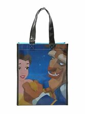 DISNEY PRINCESS BELLE GASTON BEAUTY AND THE BEAST SHOPPING TOTE BAG NWT
