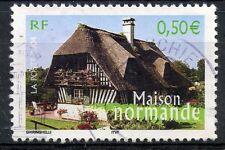 STAMP / TIMBRE FRANCE OBLITERE N° 3702 MAISON NORMANDE