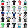 Mens Cycling Jerseys Bike Short Sleeve Tops Riding Clothing Bicycle Sportswear