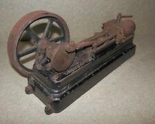 🌎 1920s DISC CRANK FACTORY MACHINED STUART S50 HORIZONTAL LIVE STEAM ENGINE