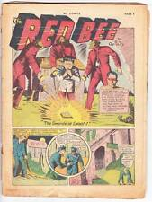 Coverless HIT COMICS #6 - 1940 Golden Age - 1st Lion Boy, Old Witch early horror