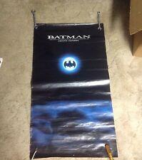 RARE! BATMAN Danny Elfman Promo POSTER 36x12apx album Cd lp movie film OOP