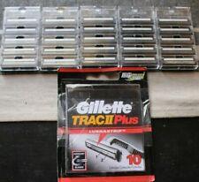 NEW Genuine Gillette Trac II Plus Razor Blades with Lubrastrip -25 Total NO BOX