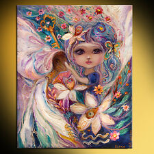 Fairies of Zodiac: Aquarius superb quality pop art print by Elena Kotliarker
