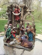 Nativity Set Christmas Scene Creche Figurines Glory In The Highest Huge Nativity
