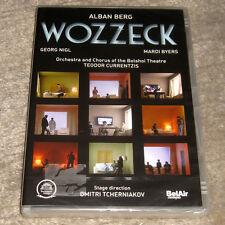 DVD · Alban Berg · Wozzeck · Oper · Currentzis · Tcherniakov · OVP · NEU