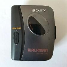 Sony Walkman WM-EX162 Cassette Player with Mega Bass Belt Clip Tested/Working