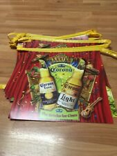 Vtg Corona Beer String Pennant Sign Flag The Drinko For Cinco The Mayo