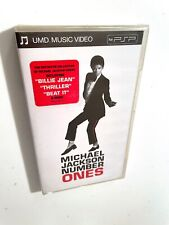 ULTRA RARE LIMITED EDITION ! UMD - STILL SEALED! - NUMBER ONES - MICHAEL JACKSON