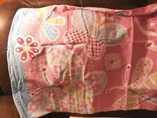 "Pottery Barn Kids Butterfly Beach Towel ""Jacey"" New"