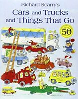 Cars and Trucks and Things that Go by Scarry, Richard Paperback Book The Fast