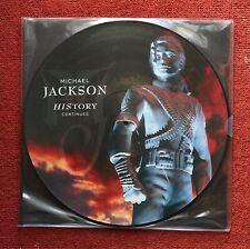 Michael Jackson - History Continues Picture Disc Double LP Vinyl