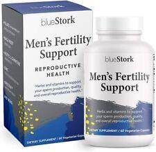 Blue Stork Men's Fertility: Male Fertility Support w/ Horny Goat Weed 60 Cap