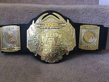 "TNA NWA World Heavyweight Championship Jakks Belt 34""W RETIRED AJ STYLES ANGLE"