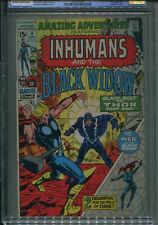 Amazing Adventures #8 CGC 9.0 Inhumans - Thor - Black Widow App   FREE SHIPPING