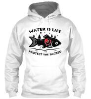 Water Is Life Protect The Sacred - Gildan Hoodie Sweatshirt