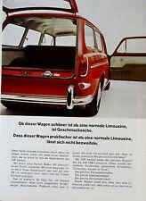 VW 1500  Variant    original Werbung aus 1965