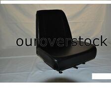 Forklift Seat - Universal - Vinyl - New - Cheap Freight