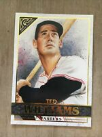 2020 Topps Gallery TED WILLIAMS SP Masters #182 High Number Boston Red Sox