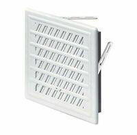 Blanc Aération Grille 165mm x 235mm Réglable Volet / Conduit Ventilation Housse