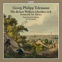 Barockwerk Hamburg - Georg Philipp Telemann: Die dicken Wolken [CD]