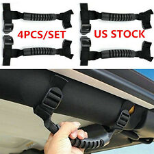 4*Unlimited Roll Bar Grab Handles for Jeep Wrangler YJ TJ JK JKU Sports Sahara