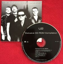 U2 MEXICO Exclusive CD ROM Compilation Promo Nr Mint CD