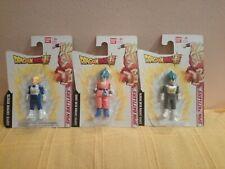 Pack 3 Dragon Ball Super Spin Battlers:Super Saiyan Vegeta+Blue Goku+Blue Vegeta