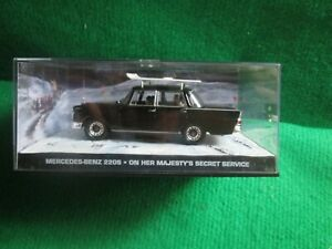MERCEDES BENZ 220S ON HER MAJESTYS SERVICE (JAMES BOND CAR COLLECTION) LOT D73