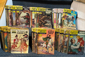 Classic Illustrated Comics, (Lot of 93) Various Issues, Includes 13 CI JR. (CB17