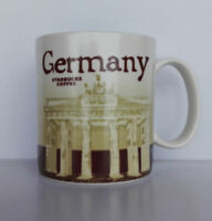 New Starbucks Coffee Mug Collector Series Germany City Mugs 16oz