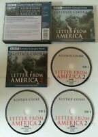 AUDIO BOOK CD - Alistair Cook Letters From America 2 The Middle Years 1970s BBC