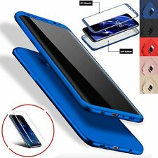 Cover case custodia 360 silicone gel per Samsung Galaxy s7 edge s8 s9 +pellicola