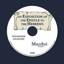 An exposition of the Epistle to the Hebrews – 4 e-Books Collection on 1 DATA DVD