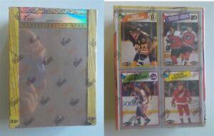 1988-89 O-Pee-Chee Hockey Empty Wax Box Grade PR 1 iCert Bourque Yzerman Bottom