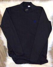 Nike Fit Men's Long Sleeve Shirt Black Fitness Size Large